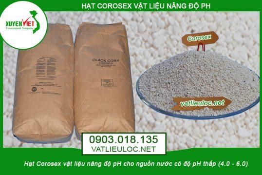 Hạt nâng pH Corosex Clack (Mỹ)- Môi Trường Xuyên Việt phân phối giá tốt