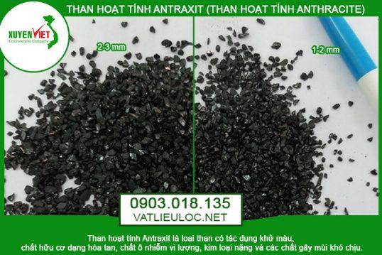 Than Antraxit (Than Anthracite) Lọc nước – Phân Phối Giá Rẻ 0903018135