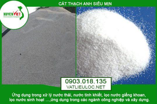 Cát thạch anh siêu mịn – Môi Trường Xuyên Việt Phân Phối 0903.018.135