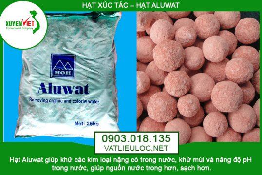 Hạt Aluwat Lọc Nước Khử Kim Loại, Khử Mùi – Phân Phối 0903.018.135