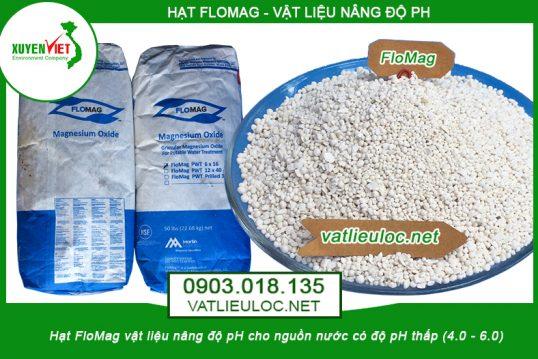 Hạt nâng pH FloMag vật liệu lọc nước giá rẻ – Môi Trường Xuyên Việt
