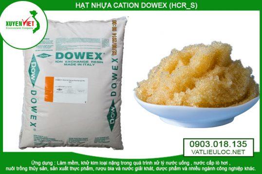 Hạt nhựa CATION DOWEX (HCR_S) – Vật liệu lọc Xuyên Việt