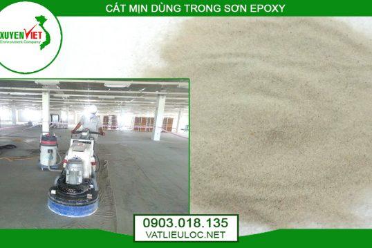 Cát Epoxy, Cát mịn sơn sàn epoxy- Cát thạch anh Xuyên Việt 0903018135