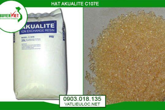 Hạt nhựa trao đổi ion Akualite xử lý mềm nước – Môi Trường Xuyên Việt