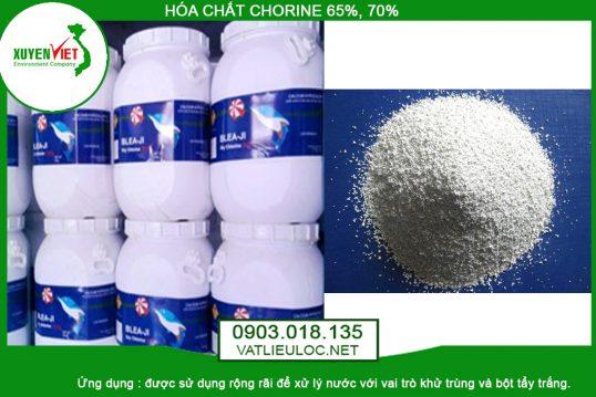 Hóa Chất Chlorine 65% – 70% Khử Trùng Diệt Vi Khuẩn – Vật Liệu Lọc
