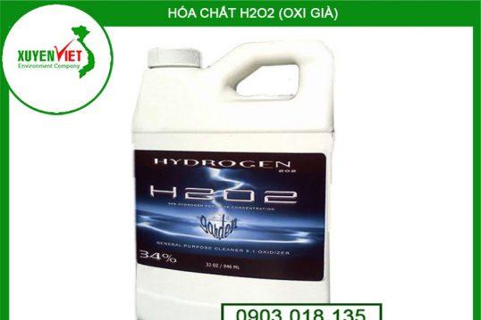 Hóa chất H2O2 (Oxy Già) Tẩy Trắng – Công Ty Môi Trường Xuyên Việt