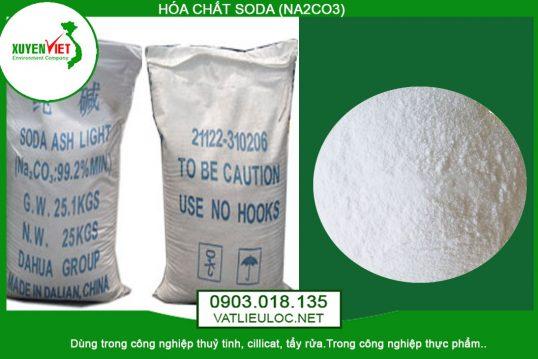 Hóa chất Soda (Na2CO3) Xử Lý Tẩy Lọc Nước – Môi Trường Xuyên Việt