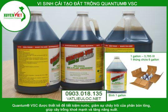 Men vi sinh cải tạo đất trồng Quantum® VSC – Giá Rẻ 0903.018.135