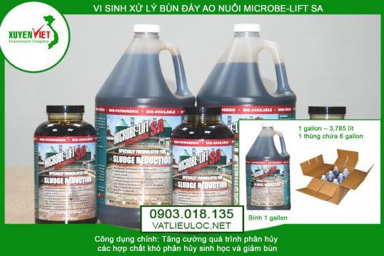 Men vi sinh xử lý bùn MICROBE-LIFT SA – Phân Phối Giá Rẻ 0903018135