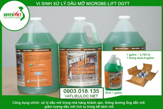 Men vi sinh xử lý dầu mỡ MICROBE-LIFT DGTT- Phân Phối 0903.018.135