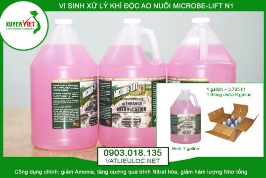 Men vi sinh xử lý khí độc ao nuôi Microbe-lift N1 – Phân Phối 0903.018.135