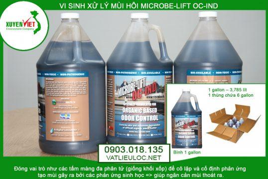 Men vi sinh xử lý mùi hôi MICROBE LIFT OC IND- Phân Phối 0903018135