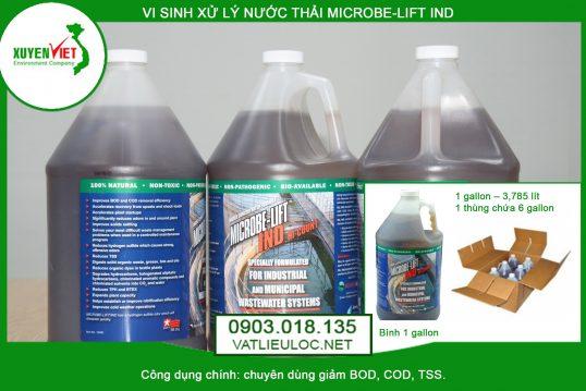 Men vi sinh xử lý nước thải MICROBE-LIFT IND – Giá rẻ 0903.018.135
