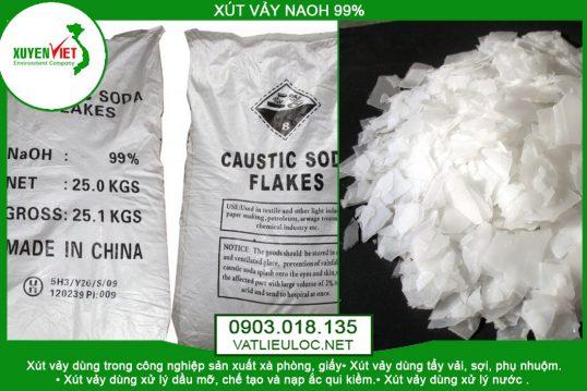 Hóa Chất NaOH Lọc Nước Khử Mùi -Vật Liệu Lọc- Môi Trường Xuyên Việt