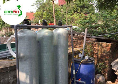 Xử lý nước giếng khoan – Vật liệu lọc nước giếng khoan nhiễm phèn sắt