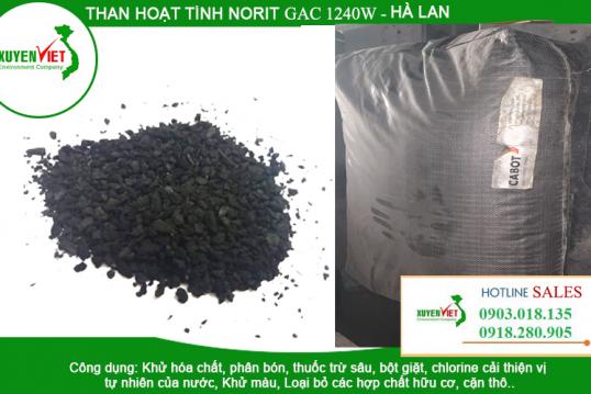Than hoạt tính Norit GAC 1240W lọc nước xử lý nước thải – Vật liệu lọc