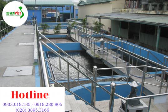 Thi công hệ thống xử lý nước sạch công nghiệp